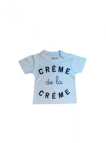 12-T.Shirt La crème ciel