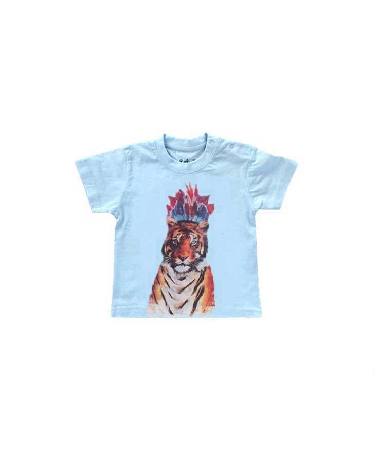 T-Shirt Tigre ciel