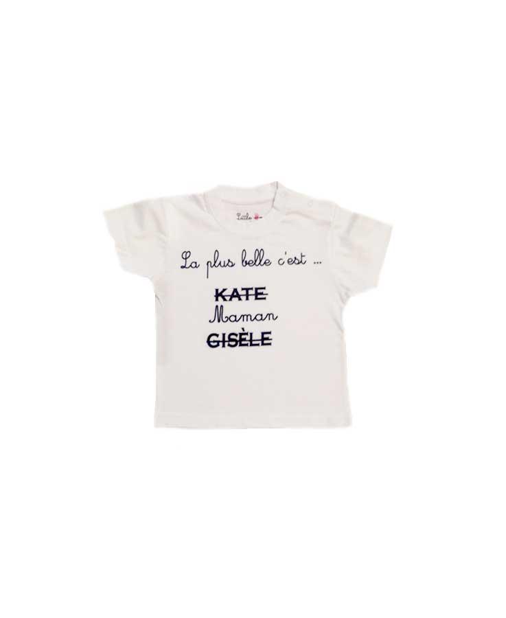 14-T.Shirt Maman blanc