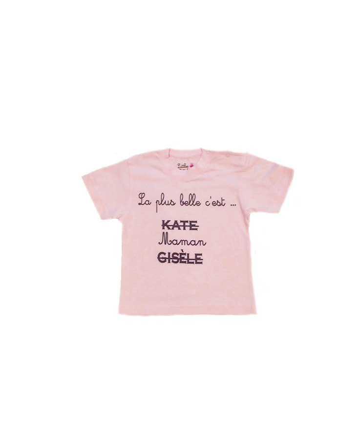 14-T.Shirt Maman rose