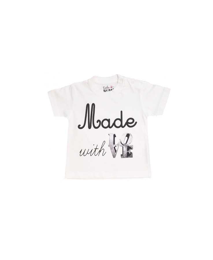 T-Shirt Made Blanc