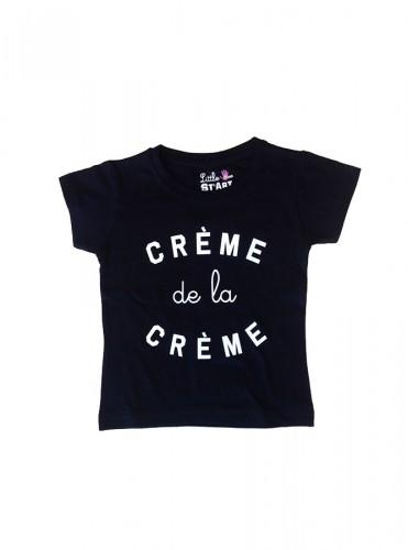 Découvrez la collection de T-shirts pour toute la famille - T-shirt crème de la crème en exclusivité. T-shirts enfant en série limitée.