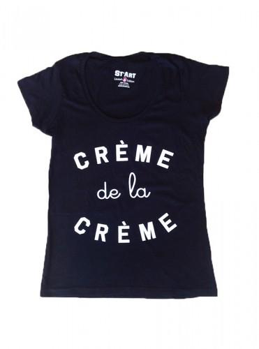 t-shirt crème de la crème